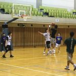 4/7のSUNRIZE basketball schoolのクラス『短期教室』について
